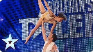 Martin and Marielle astound with their dancing   Week 4 Auditions   Britain's Got Talent 2013