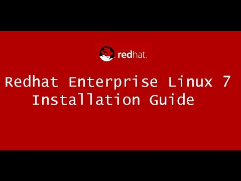 How to install redhat linux 7 | RHEL7 Installation Guide