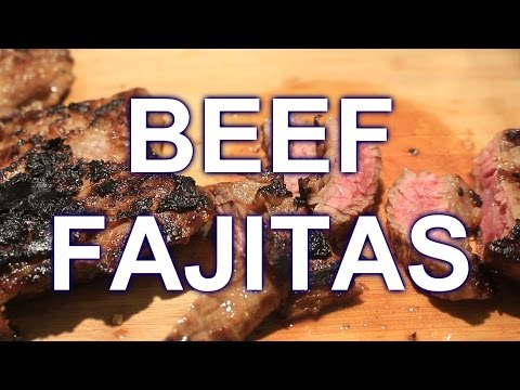 How to cook Beef Fajitas ~ Cast Iron Skillet