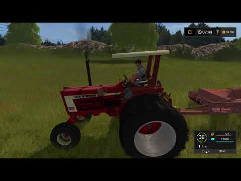 Farm Sim Saturday...Straw sales and New larger field Sowing