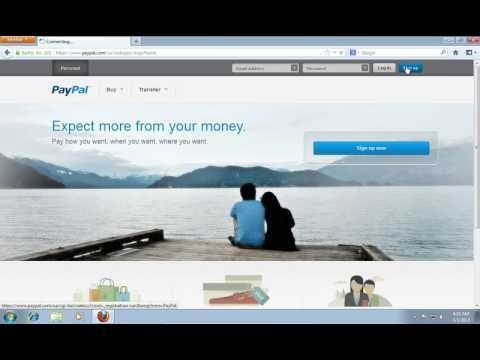 How to Open a Paypal Account in the UK