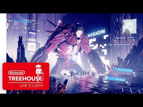 Xxx Mp4 ASTRAL CHAIN Gameplay Pt 2 Nintendo Treehouse Live E3 2019 3gp Sex