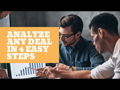 How to Analyze Commercial Real Estate Deals in 4 Easy Steps
