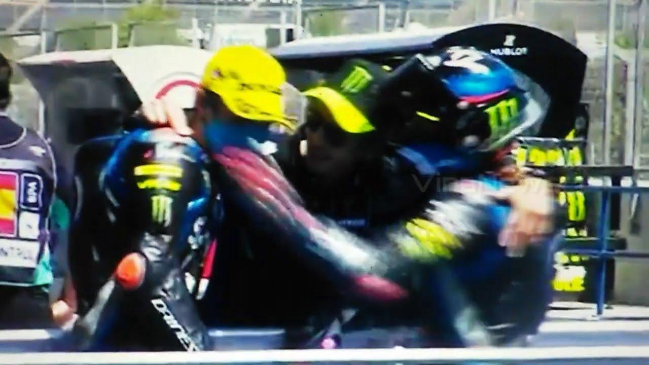Moments Lucu Murid Rossi Moto2 Andalucia 2020