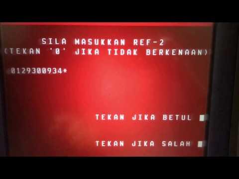 CIMB ATM - Pembayaran Melalui JomPay Menggunakan Mesin ATM CIMB