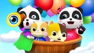 Playtime with Baby Panda | Pelajari Warna, Lagu Makanan | Lagu Anak-Anak | Kartun Bayi | BabyBus