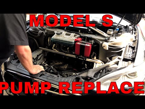 Model S Washer Pump Replacement HOW TO!!!