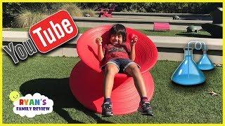 Kid Family Fun Board Game Night + Family Trip to YouTube Space LA with Ryan