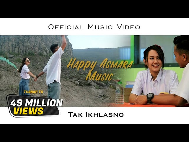 Download HAPPY ASMARA - TAK IKHLASNO (Official Music Video) MP3 Gratis