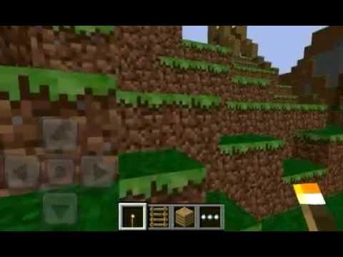 Minecraft Pocket Edition Wonderful Seed Waterfall Giant Caves Monastery Lake