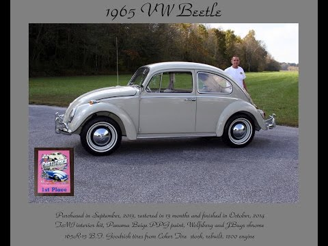 Restoring a 1965 VW Beetle, Part 3