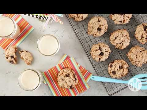 How to Make Vegan Chocolate Chip, Oatmeal, and Nut Cookies | Dessert Recipes | Allrecipes.com