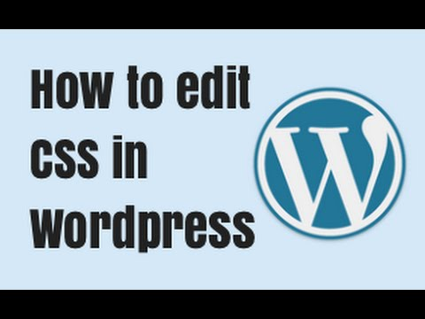 How to edit CSS in Wordpress - Cool Example