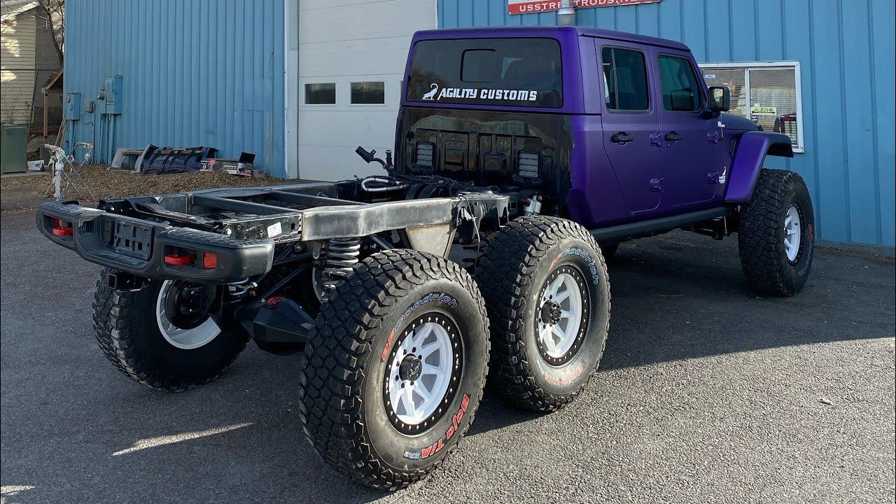 Building my $200,000 Jeep Gladiator 6x6