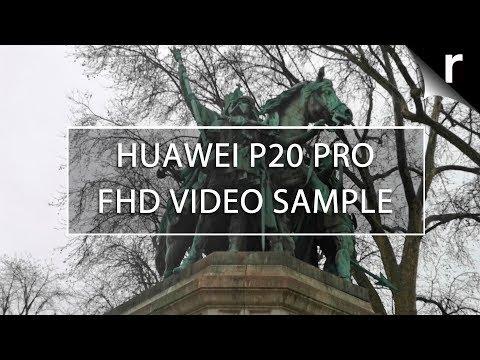 Huawei P20 Pro Camera Test: FHD Video Sample