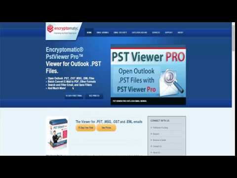Pst Viewer Pro Download Free From the Publisher