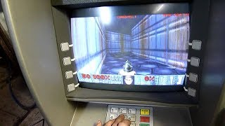 8 Times Videogames Were Played on Weird Devices