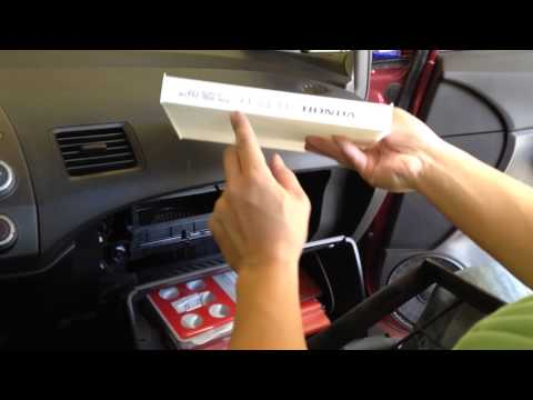 How to Change a 8th Generation Honda Civic Cabin Air Filter