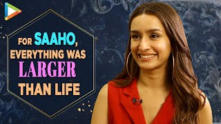 """Shraddha Kapoor: """"I would LOVE to work with PRABHAS Again"""" 