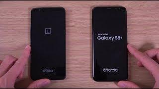 OnePlus 5T vs Samsung Galaxy S8 - Speed Test!