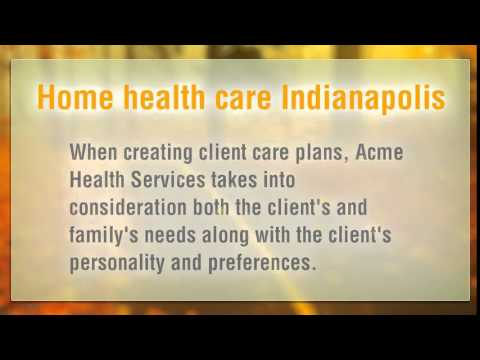 Home health care Indianapolis is necessary for some senior citizens