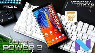 Ulefone Power 3 | Full Review | 6080mAh, Helio P23, Face ID, 6GB RAM