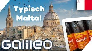 Kinnie macht Cola Konkurrenz? - 5 traditionelle Dinge in Malta | Galileo | ProSieben