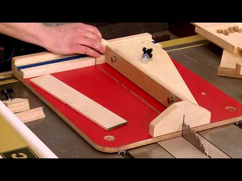 Project Overview: Small Parts Table Saw Sled