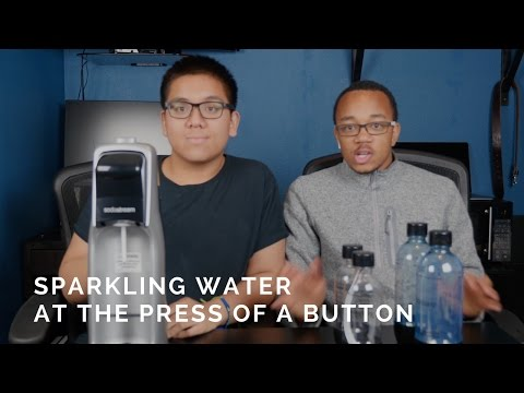 Making Sparkling Water at Home | SodaStream Fountain Jet Unboxing
