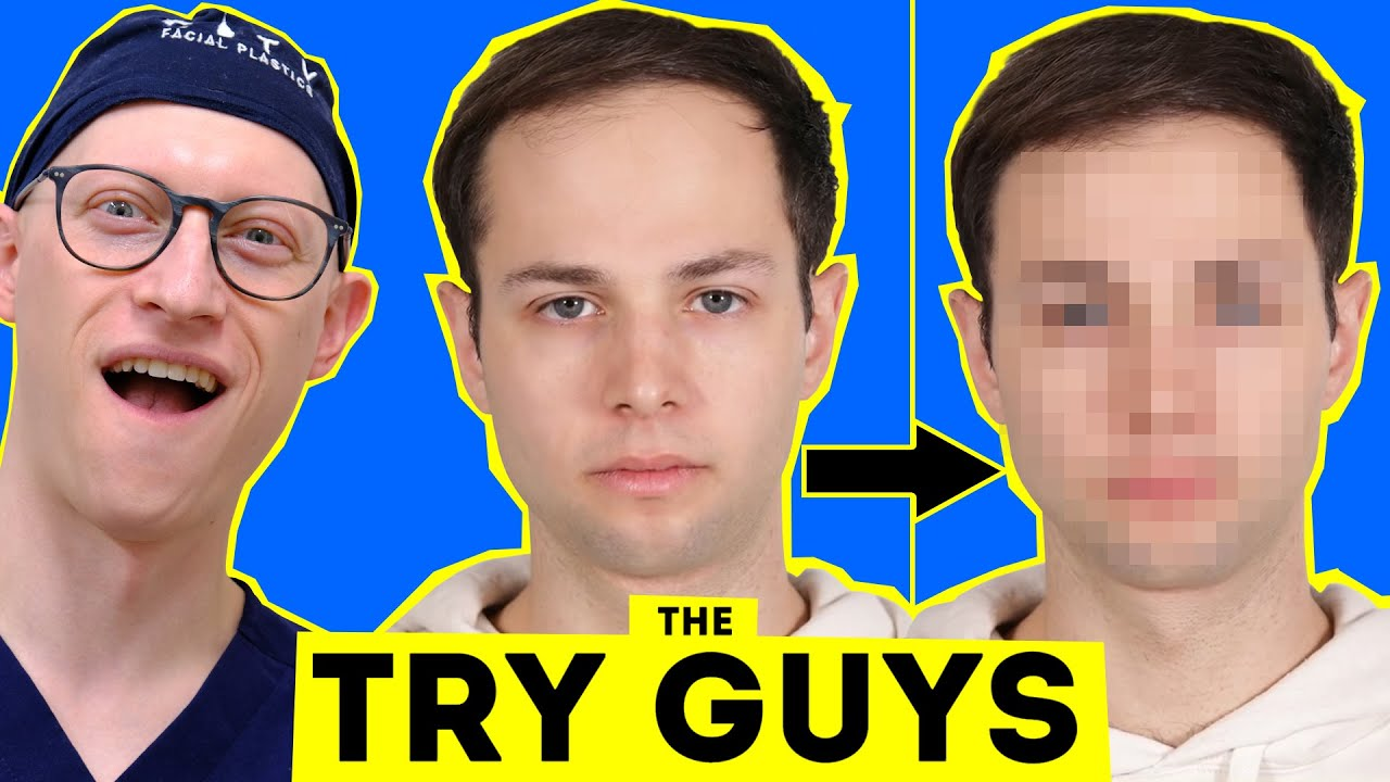 Surgeon Reacts to Should The Try Guys Do Plastic Surgery?