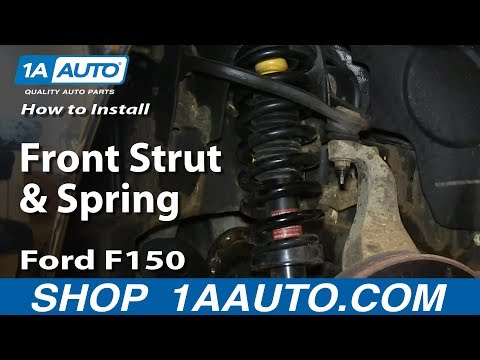 How To Install Front Strut and Spring 2004-08 Ford F150