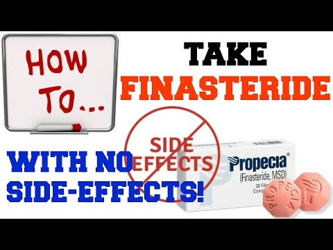 How To Take Finasteride (Propecia) Without Side Effects
