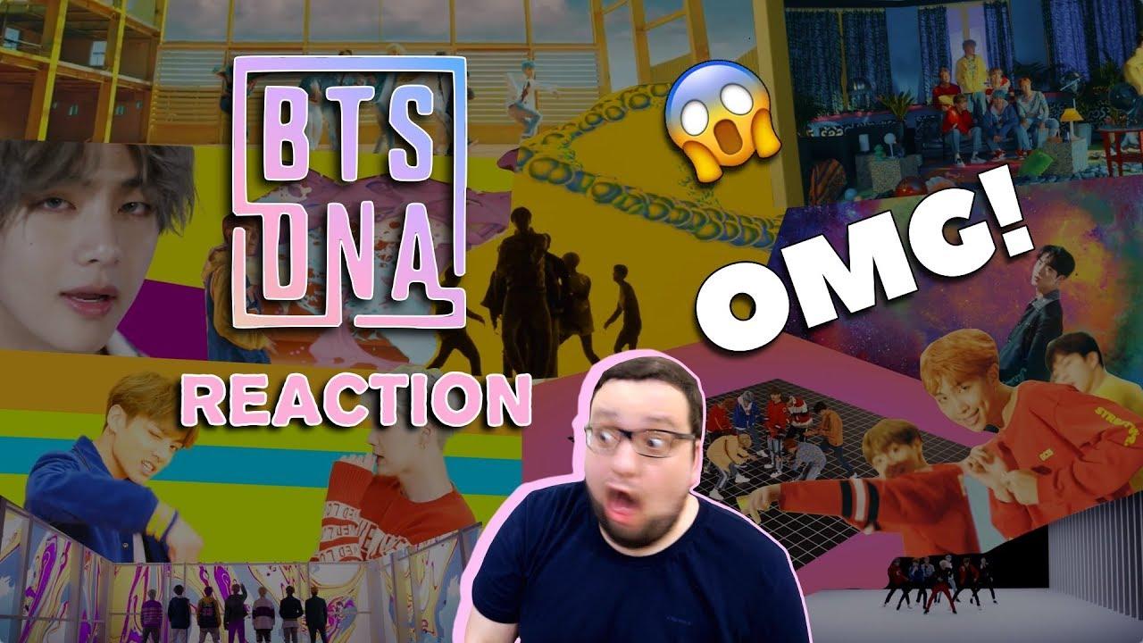 BTS - (방탄소년단) 'DNA' Official MV (Russian REACTION) РЕАКЦИЯ