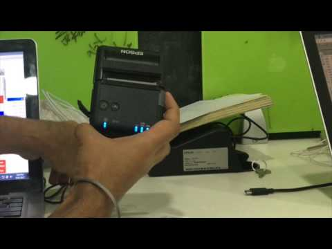 How To Print Via Thermal Printer From Book Keeper Windows