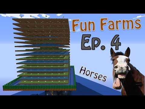 Minecraft - Simple and Easy Passive (Peaceful) Mob Farm and Spawn Preparation. (Fun Farms Ep. 4)