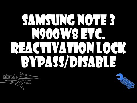 How To Bypass / Remove Reactivation Lock on Samsung Galaxy Note 3 / S5 - Locked by Samsung Account