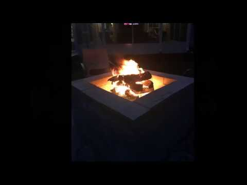 Build Fire Pit with Cinder Blocks