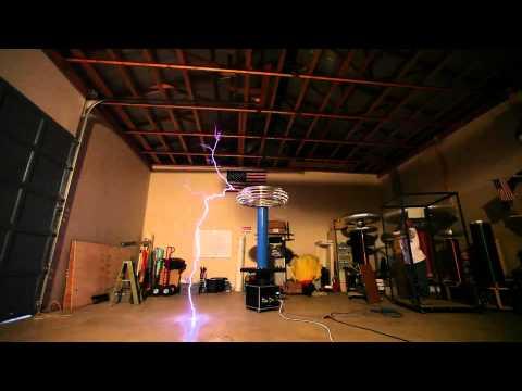 2010 RATCB Teslathon - Steve Ward's Large DRSSTC (Part 4)