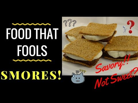 Food That Fools! S'mores -with yoyomax12
