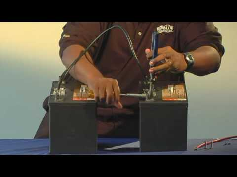 How to: Increase battery amp/hours - connecting inverter batteries in parallel - Tripp Lite tutorial