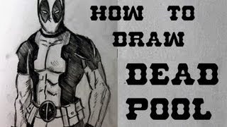 Ep 31 How To Draw Deadpool Part 1 Of 2