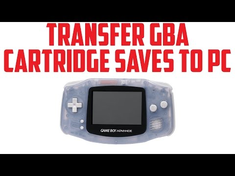 How to Transfer Your GBA Save From Cartridge to PC
