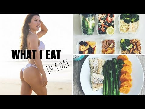 WHAT I EAT IN A DAY & BOOTY WORKOUT | Episode 5 Summer Cuts