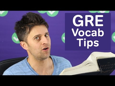Top 3 GRE Vocabulary Study Tips