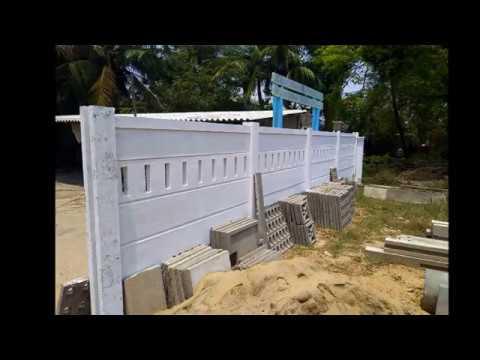 precast concrete fence panels residential
