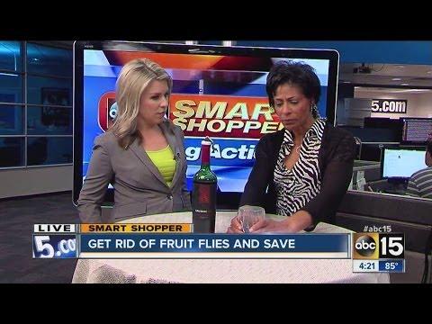 Need to get rid of fruit flies?
