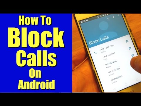 How to Block Calls on Android Phones without an App