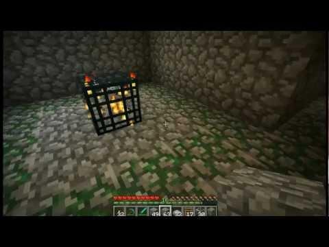 Skeleton Mob Spawner Trap Minecraft