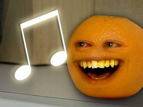Annoying Orange - Orange Gets Autotuned