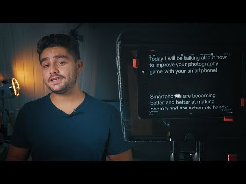 How To Improve Your Video's with an iPad Teleprompter (Tutorial/review)